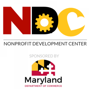 Nonprofit Development Center and MD Dept of Commerce Logos