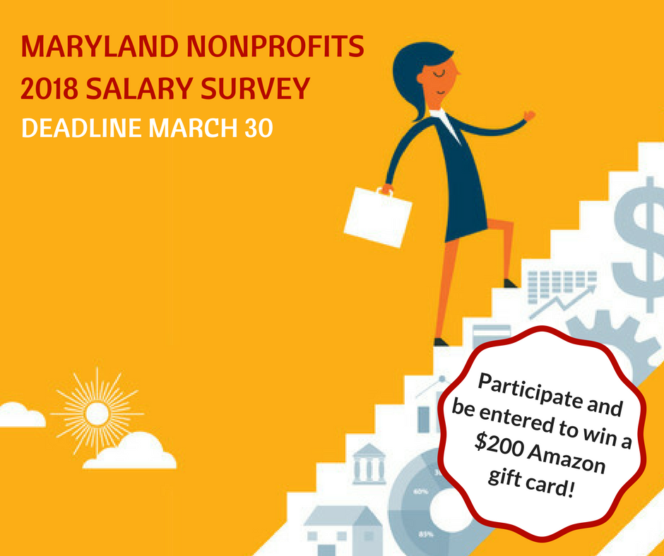 Help Your Sector Participate In The 2018 Salary Survey Maryland Nonprofits